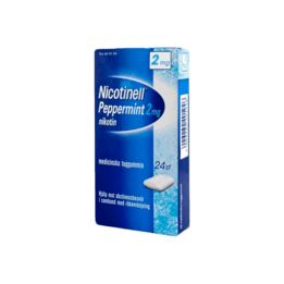 Nicotinell Peppermint Nikotintuggummi 2 mg 24 st