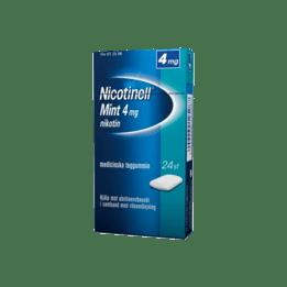 Nicotinell Mint Nikotintuggummi 4 mg 24 st