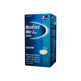 Nicotinell Mint Nikotintablett 2 mg 96 st