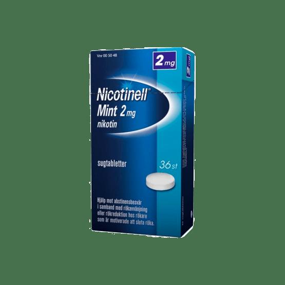 Nicotinell Mint Nikotintablett 2 mg 36 st