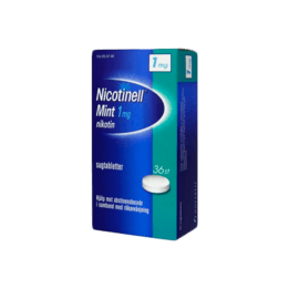 Nicotinell Mint Nikotintablett 1 mg 36 st