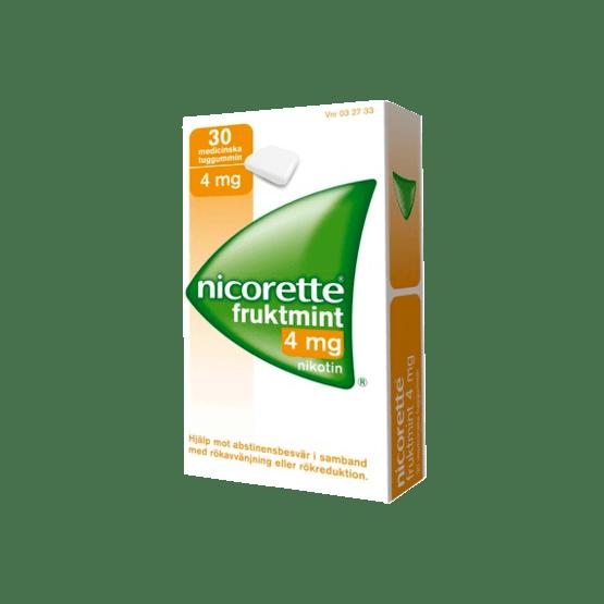 Nicorette Fruktmint nikotintuggummi 4 mg 30 st