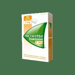 Nicorette Fruktmint nikotintuggummi 2 mg 30 st