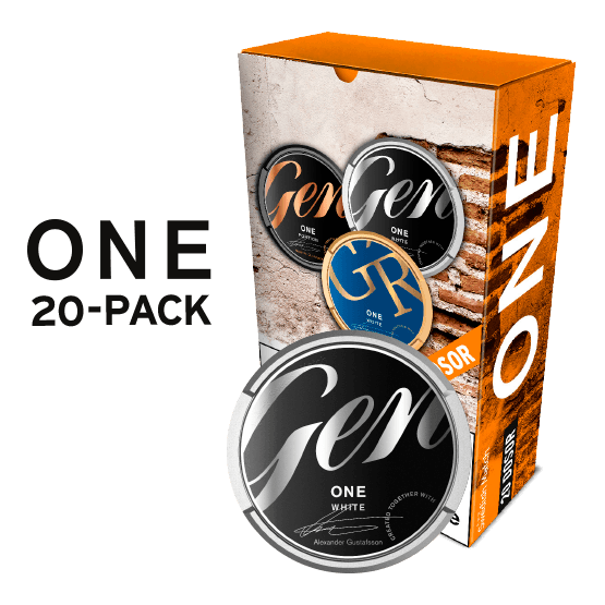 General One White Portion 20-pack