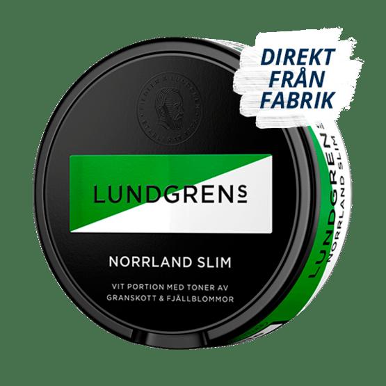 Lundgrens Norrland Slim White Portionssnus