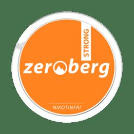 Zeroberg Strong Nikotinfritt Snus