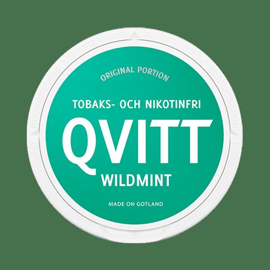 Qvitt Wild Mint Portionssnus
