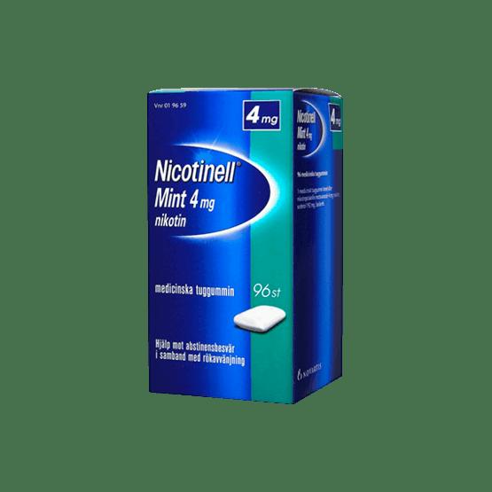 Nicotinell Mint Nikotintuggummi 4 mg 96 st