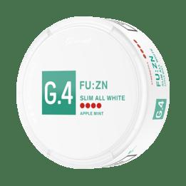 General G.4 FU:ZN Slim All White Portionssnus