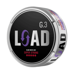 General G.3 LOAD Slim White Dry Super Strong Portionssnus