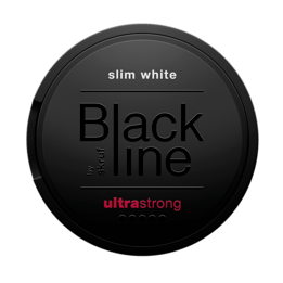 Skruf Blackline Ultra Strong Blast Slim White Portionssnus
