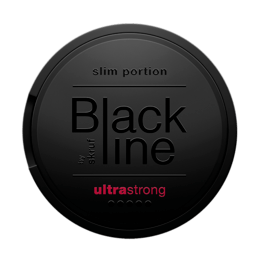 Skruf Blackline Ultra Strong Breeze Slim Portionssnus