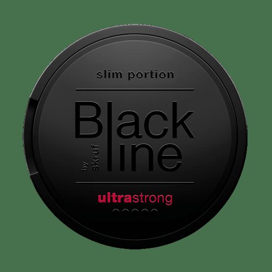 Skruf Blackline Ultra Strong Breeze Slim Portionssnus