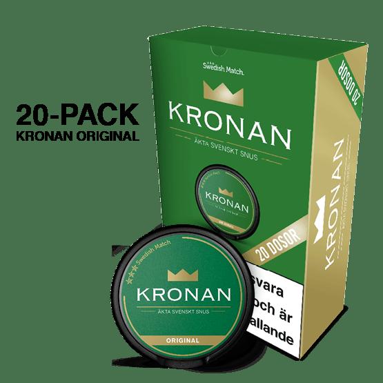 Kronan Portion 20-pack