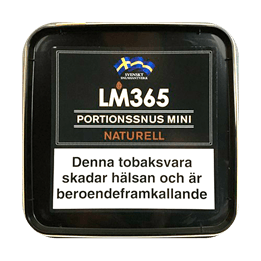 Snussats LM365 Mini Naturell Portion