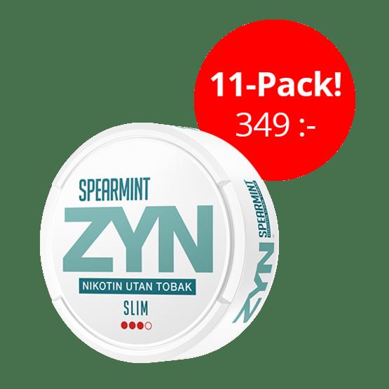 ZYN Slim Spearmint Strong