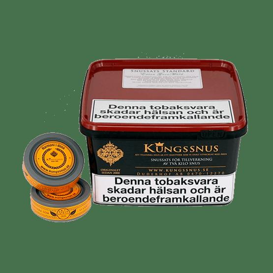 Snussats Kungssnus Standard Extra Grov