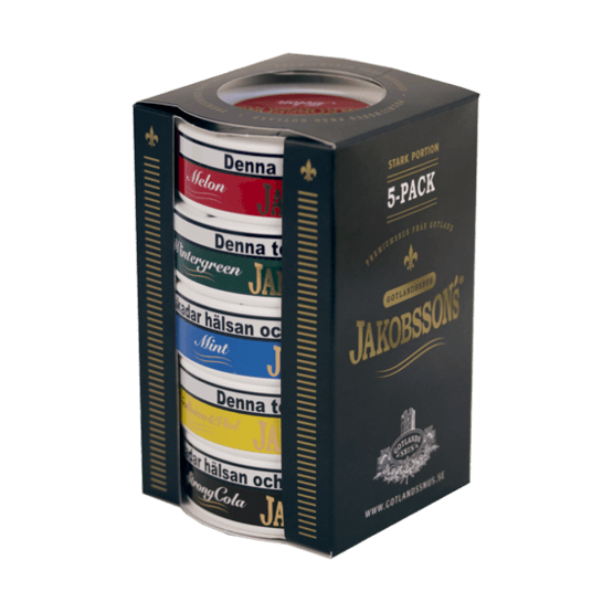 Jakobssons Mix 5-pack Portionssnus