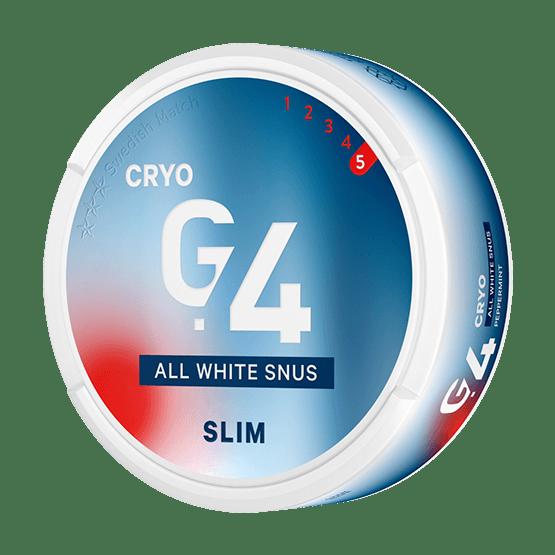 General G.4 Cryo Slim All White Portion