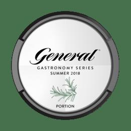 General Gastronomy Series Summer 2018 Portionssnus