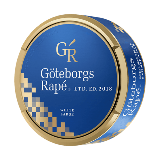 Göteborgs Rapé Summer Edition White Portionssnus