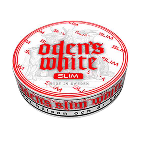 Odens Cold Extreme Slim White Portionssnus
