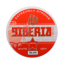 Siberia -80 Degrees White Dry Slim Portionssnus