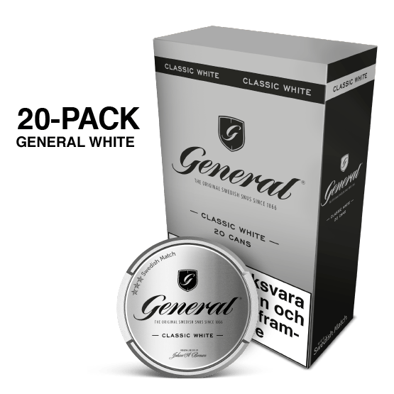 General White Portion 20-pack