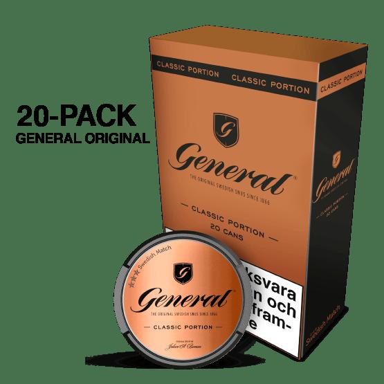 General Portion 20-pack