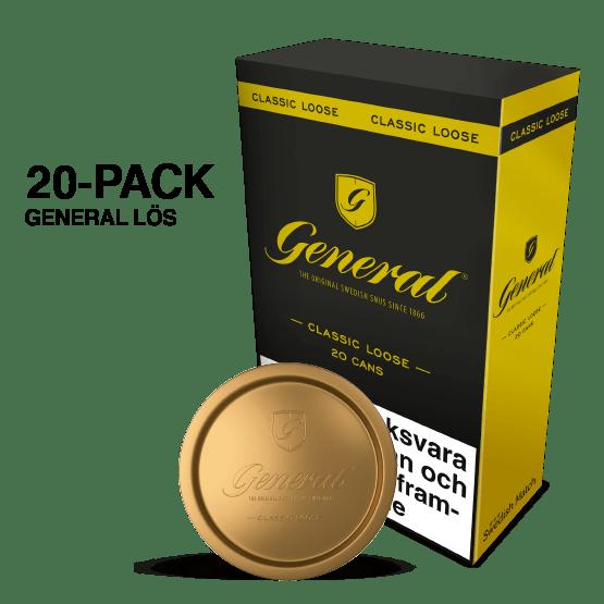 General Lös 20-pack