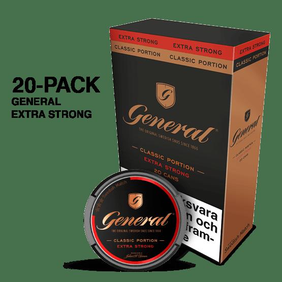 General Stark Portion 20-pack