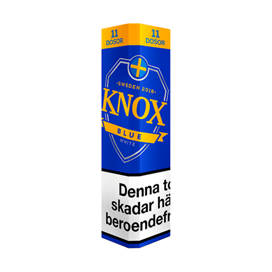 Knox Blue White Portion 11-pack