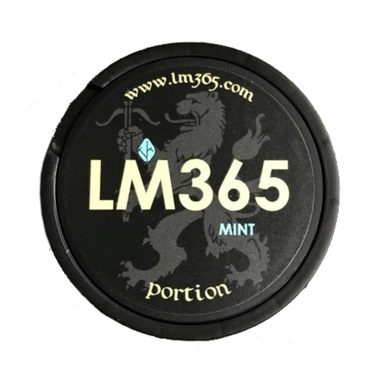 LM365 Mint Portionssnus