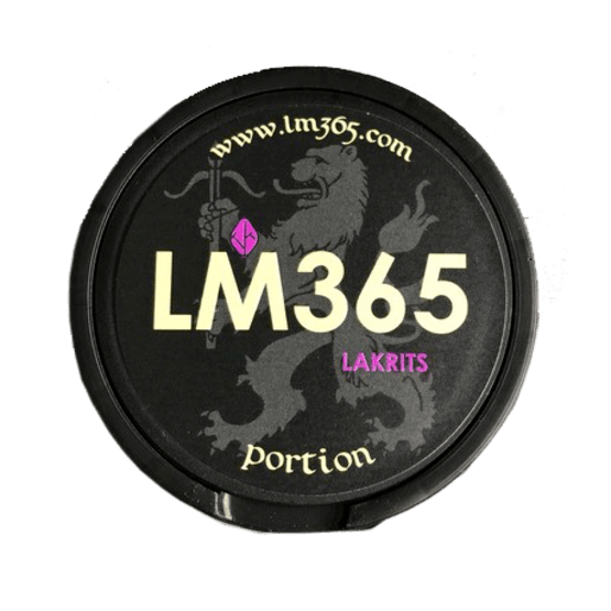 LM365 Lakrits Portionssnus