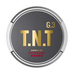 General G.3 T.N.T Slim White Dry Super Strong Portionssnus