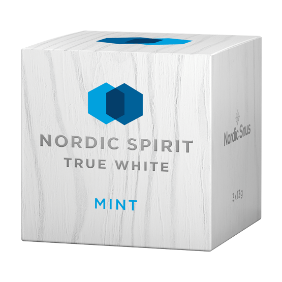 Nordic Spirit True White Mint 3-pack