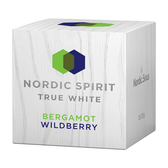 Nordic Spirit True White Bergamot Wildberry 3-pack