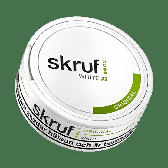 Skruf Original White Portionssnus