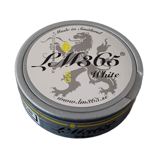 LM365 Gul White Portionssnus