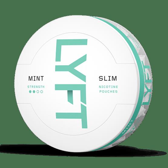 LYFT Mint Slim All White Portion