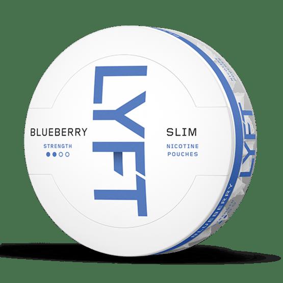 LYFT Blueberry Slim All White Portion