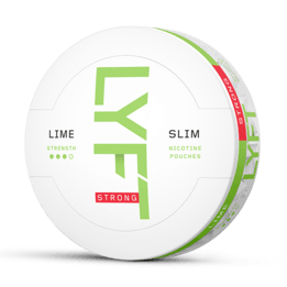 LYFT Lime Strong Slim All White Portion