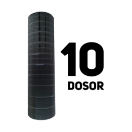 Snusdosa Svart 10-pack