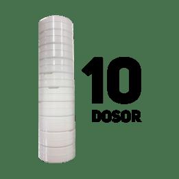 Snusdosa Vit 10-pack