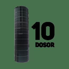 Snusdosa Svart Lös 10-pack