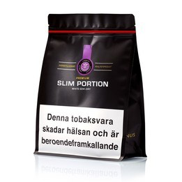 Premium Lakrits Slim Portion Bag - Snusa Direkt!
