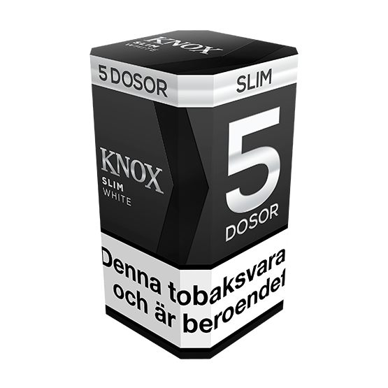 Knox Slim Original White Portionssnus 5-pack