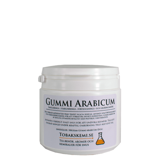 Gummi Arabicum - för fastare snus 300g