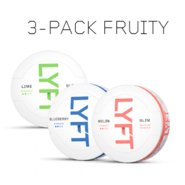 LYFT Fruity 3-pack
