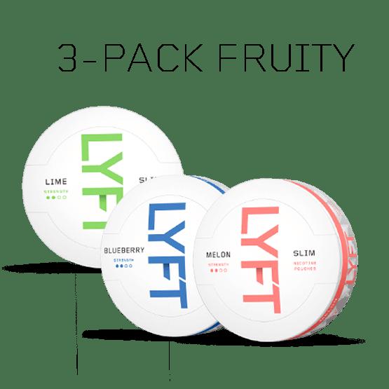 LYFT Fruity 3-pack